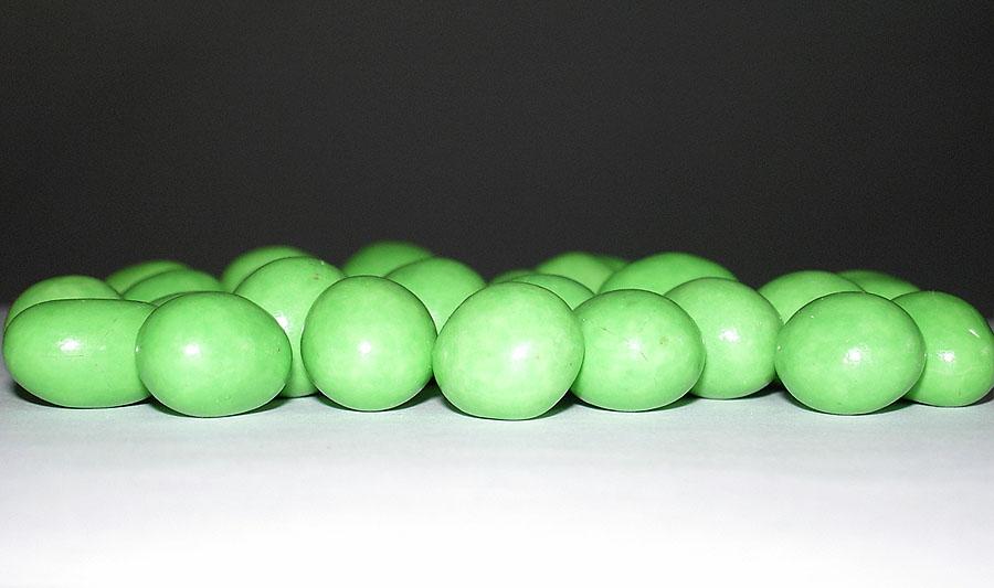 Nur die grünen durften aufs Bild...