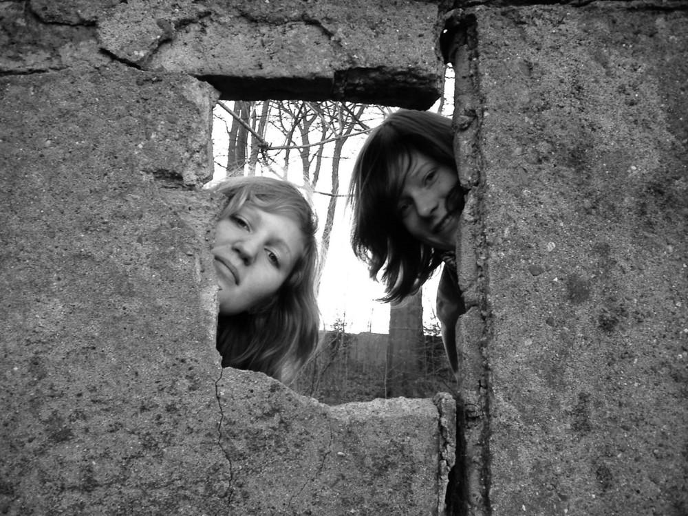 nur die Mauer zwischen uns...