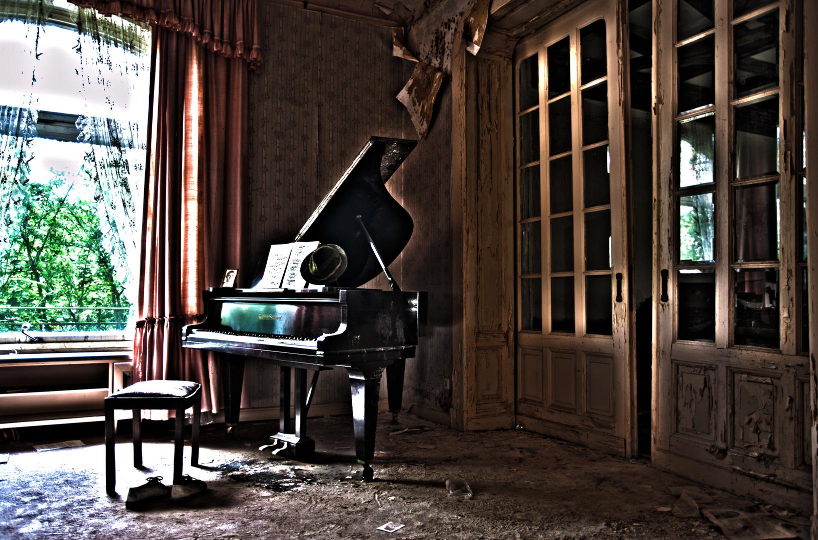 Nur die Musik bleibt................
