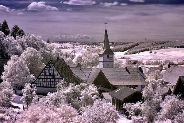 nur ein Dorf