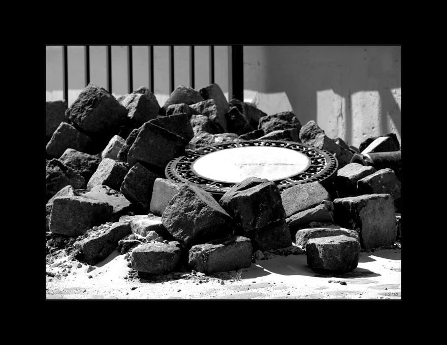 Nur ein Haufen Steine