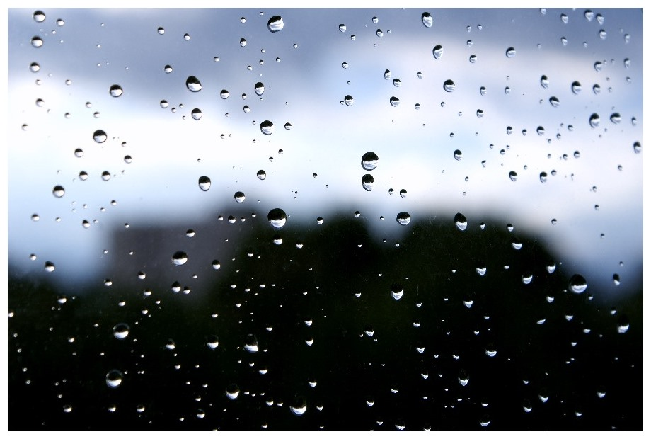Nur ein paar Regentropfen...