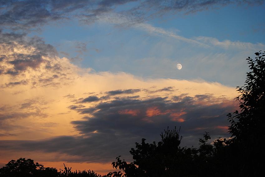 Nur ein paar Wolken