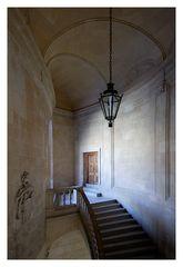 [ Nur ein Treppenaufgang im Palacio Carlos V ]