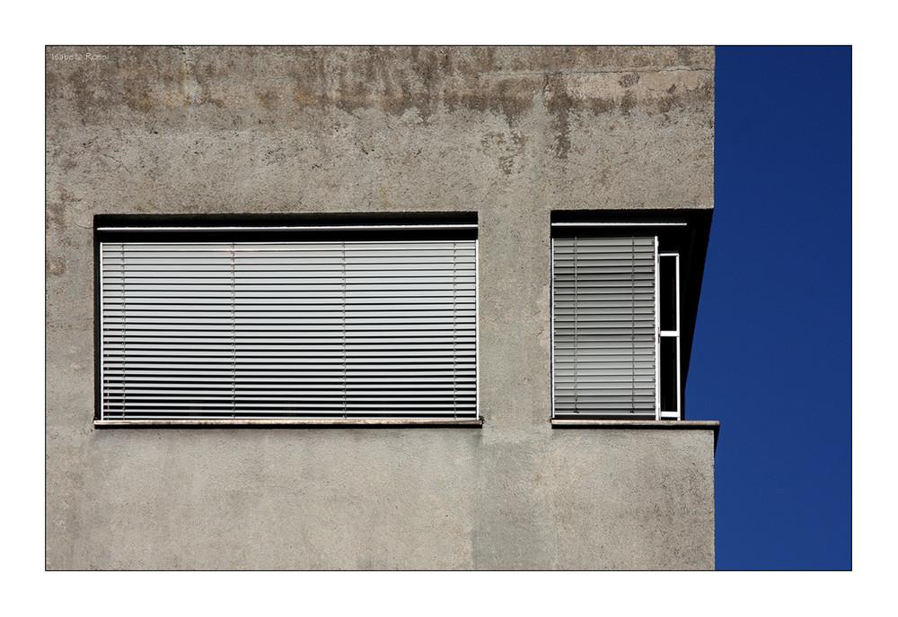 Nur eine Hausfassade