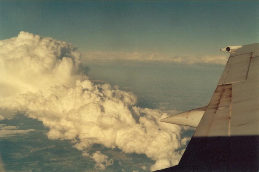 Nur eine normale Wolke!