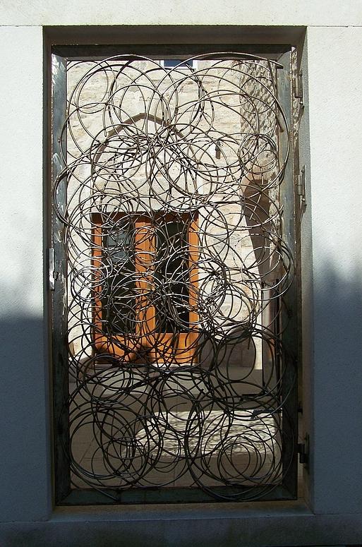 nur Fenstergitter...aber Kunst