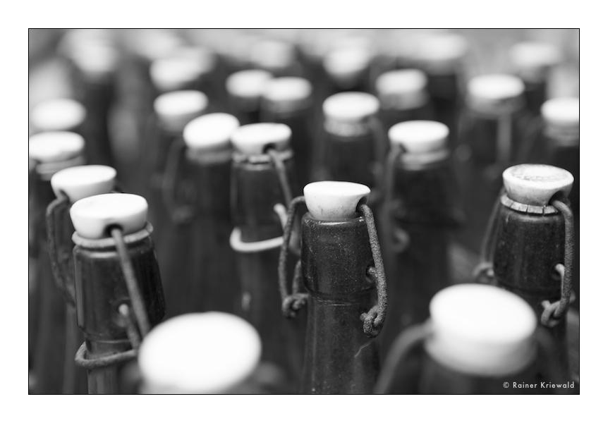Nur Flaschen müssen immer voll sein