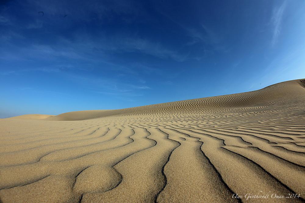 Nur Himmel und Sand