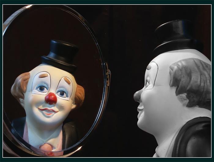 Nur im Spiegel ist die Wirklichkeit...