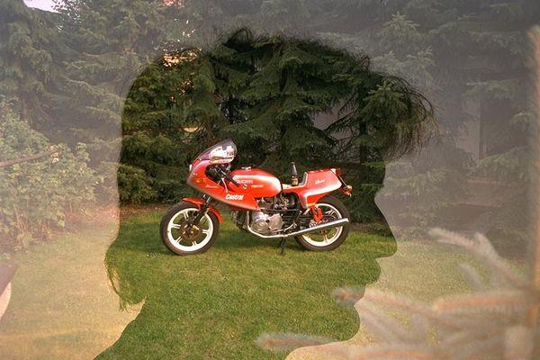 Nur Motorrad im Kopf...