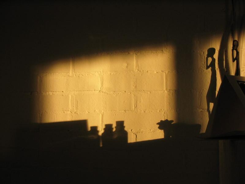 Nur noch der Schatten bleibt!