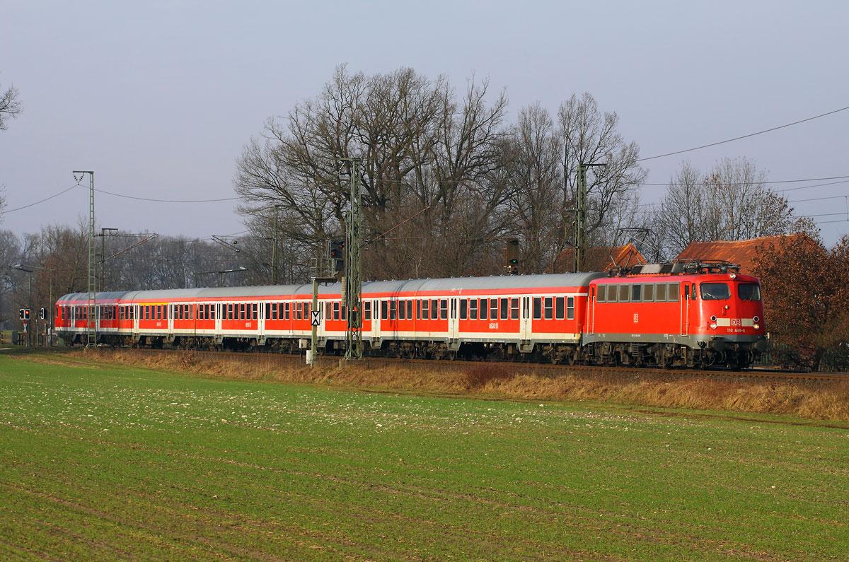 Nur noch ein Zugpaar.......