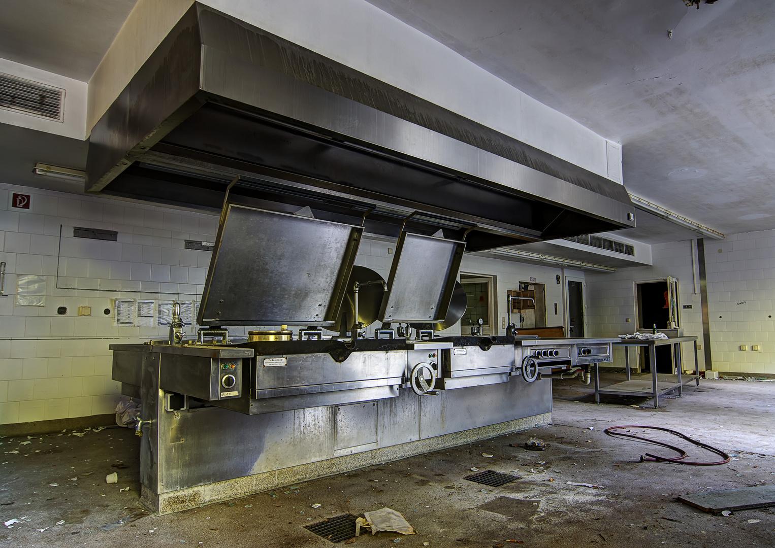 Nur noch kalte Küche...