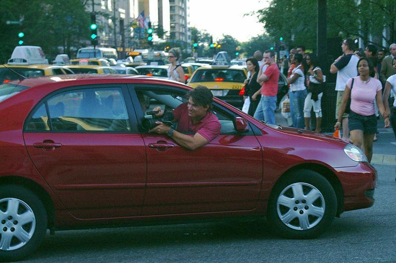 Nur verrückte Fotografen in Chicago?