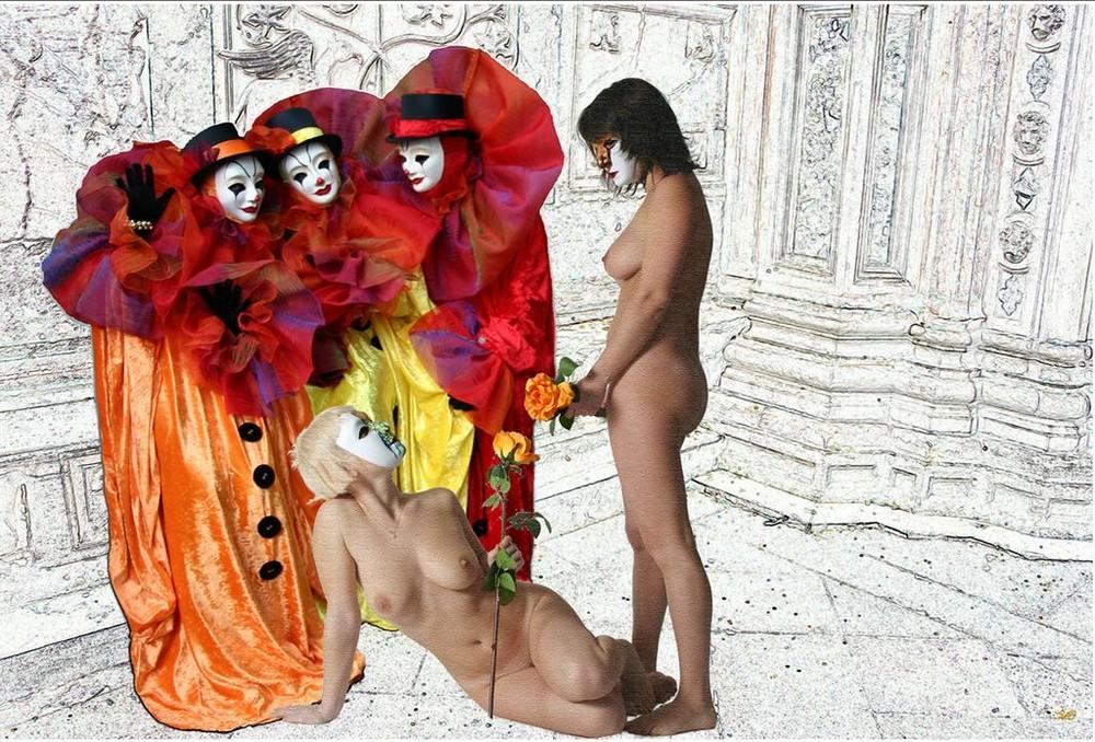 Nus à Venise