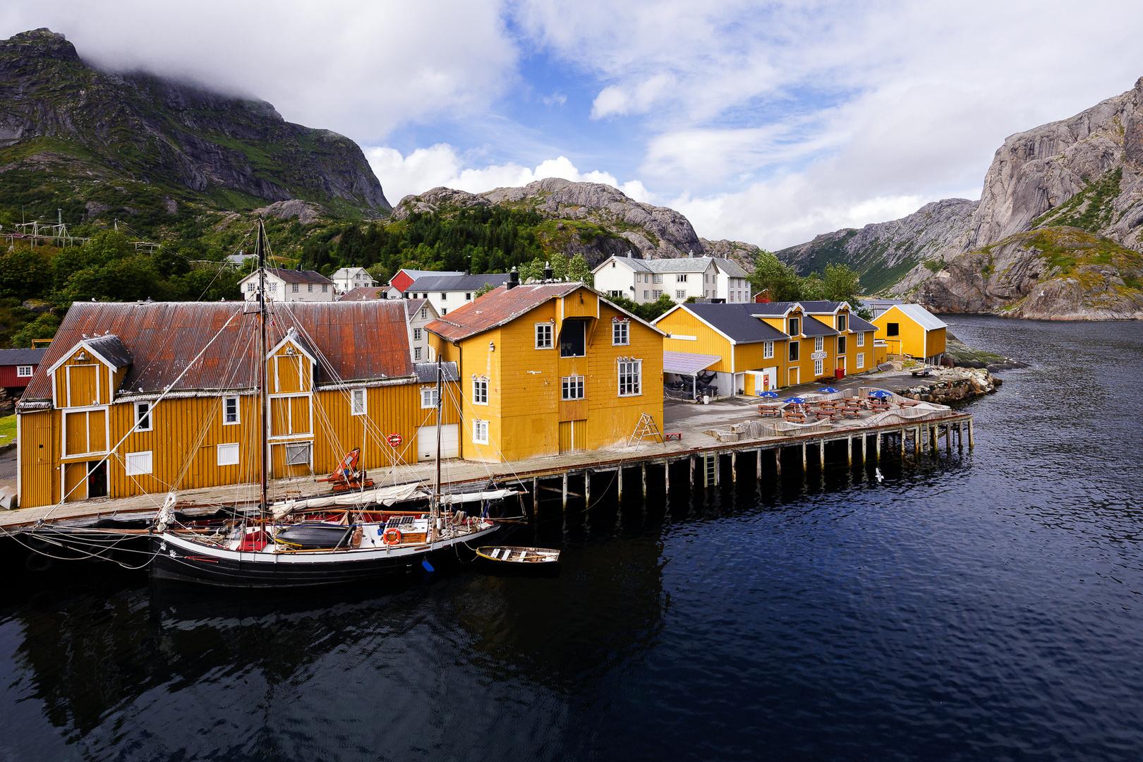 Nusfjord, Flakstadøy