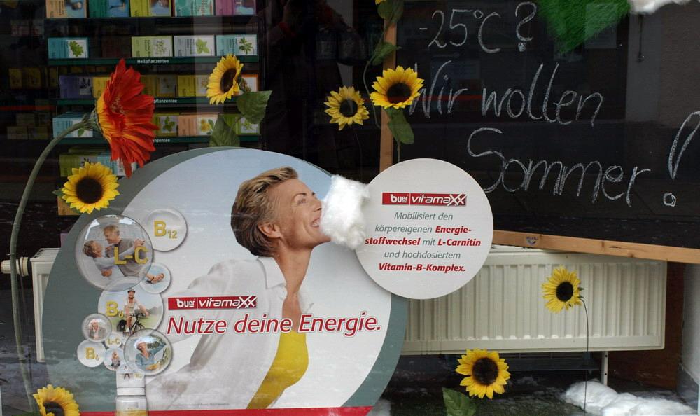 Nutze Deine Energie