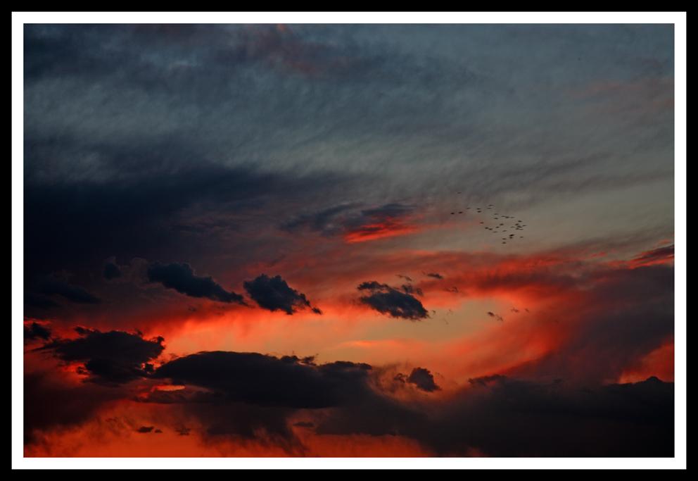 Nuvole e colori...o no?