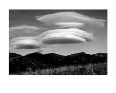 Nuvole lenticolari in Lessinia...