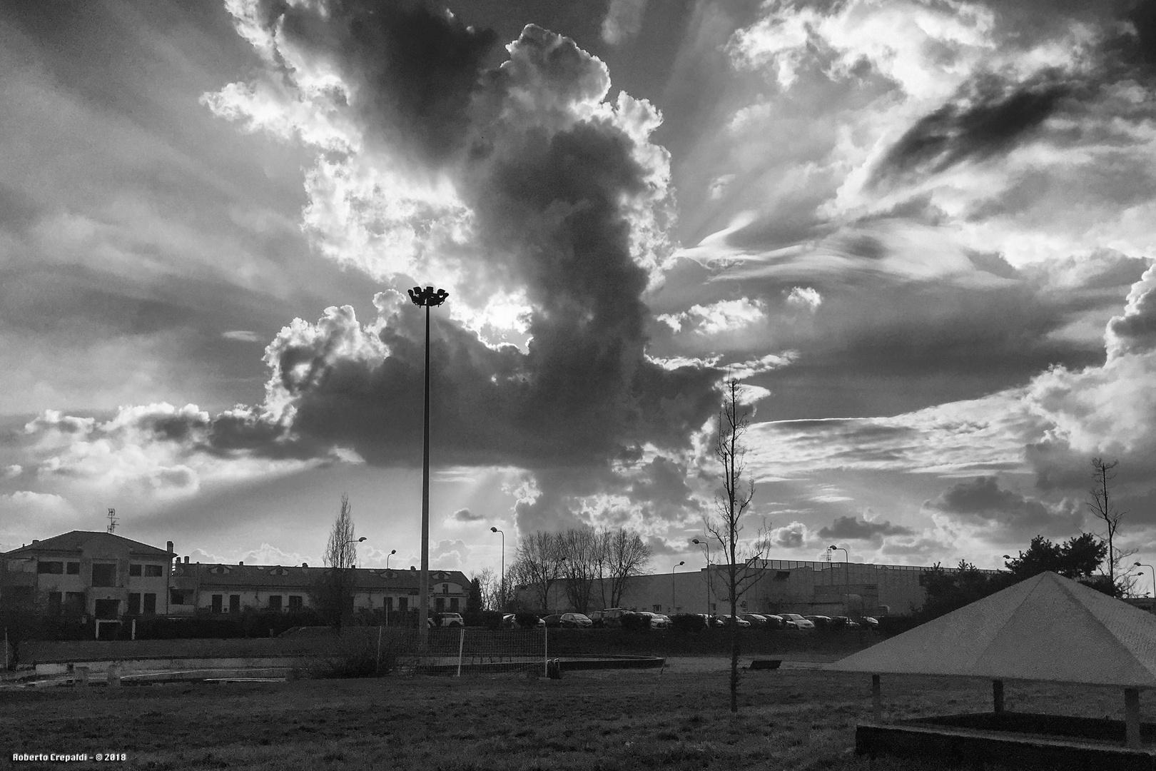 Nuvole su Pioltello