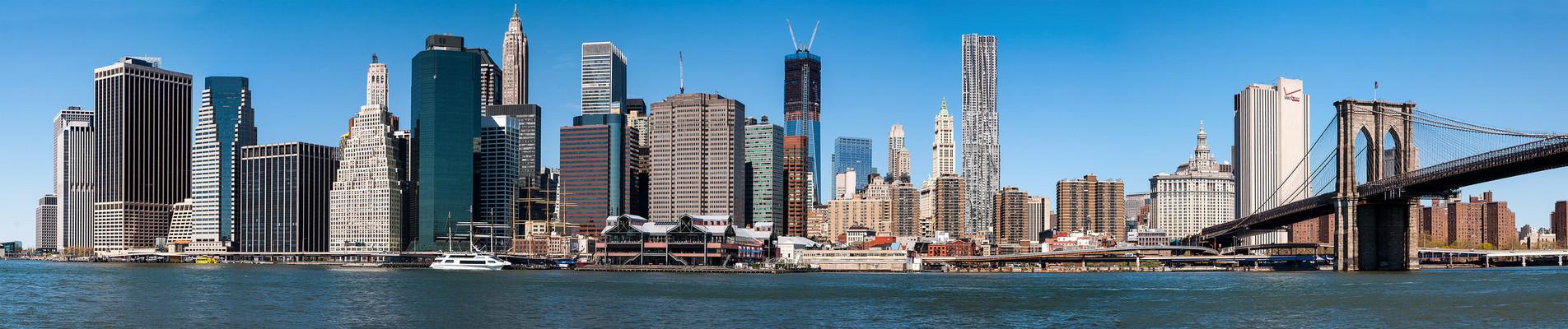 N.Y. [118] - Manhattan Skyline