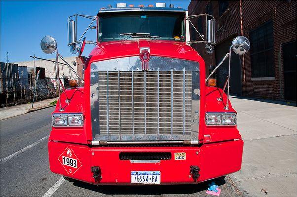 N.Y. [74] - Big Red Truck