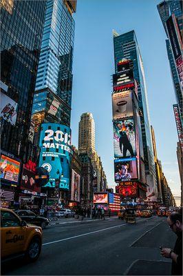 N.Y. [94] - Times Square zur Blauen Stunde
