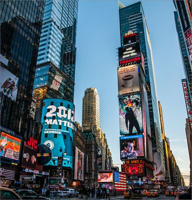 N.Y. [94a] - Times Square zur Blauen Stunde (Reloaded)
