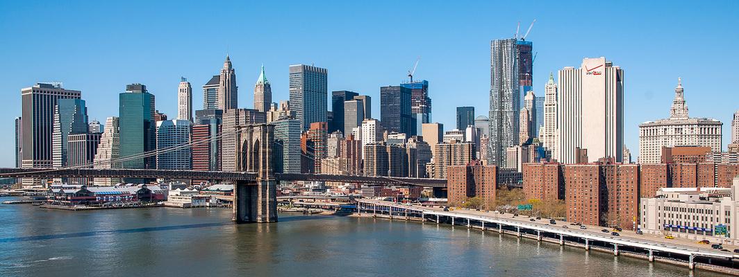 N.Y. [96] - Manhattan Bridge View