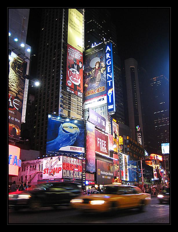 [ NY by night ]