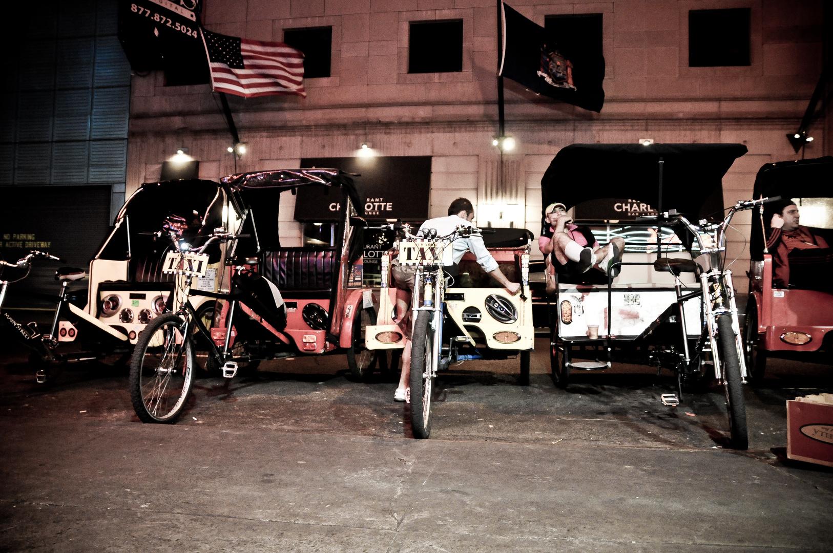 NY Fahrradrikscha