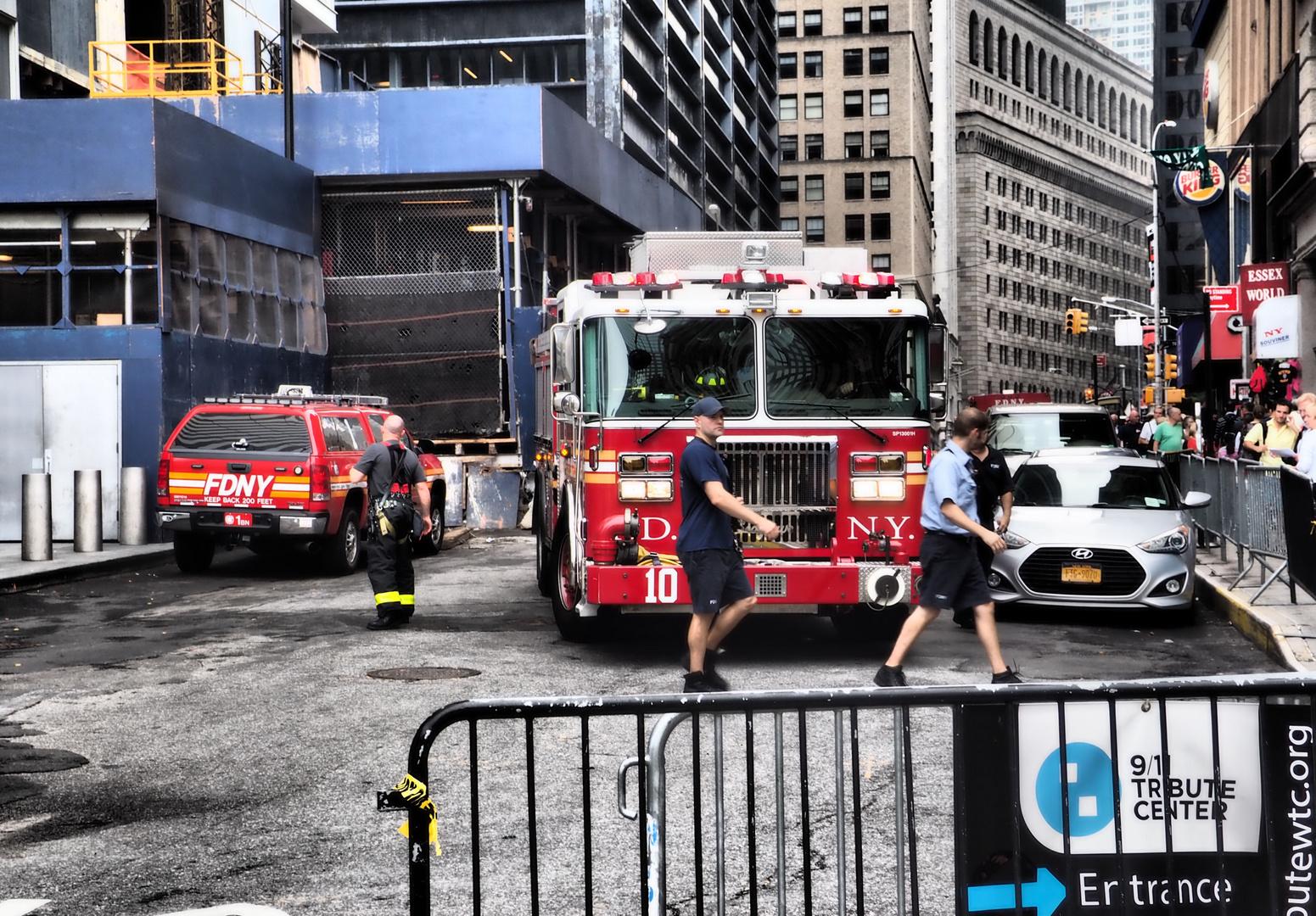 NY Feuerwehr