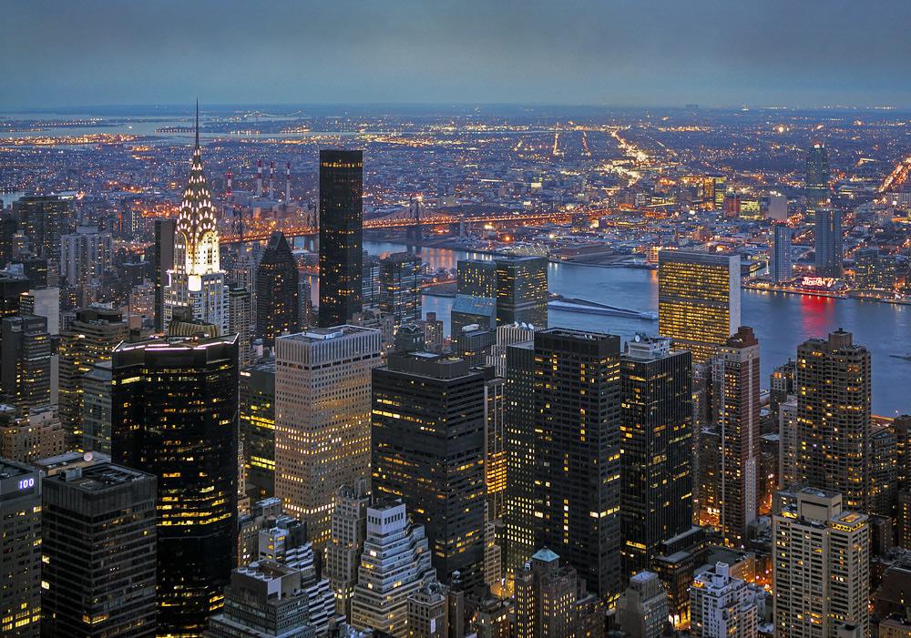 N.Y. lights
