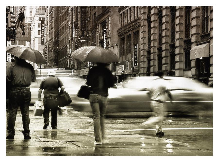 N.Y. rush hour