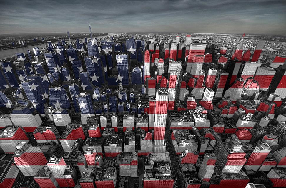 N.Y. stars and stripes X