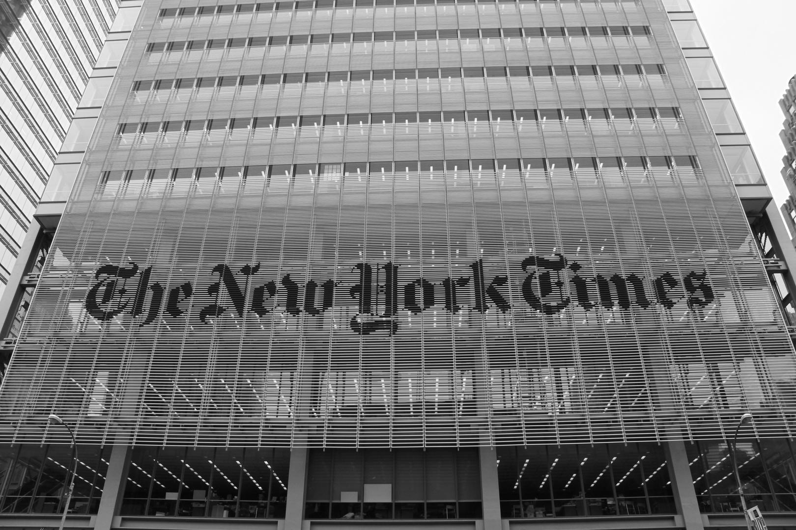 NY Times!