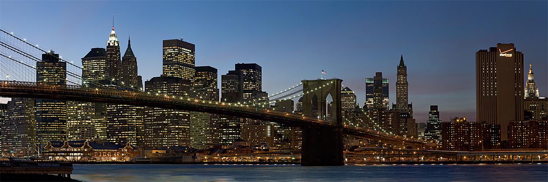 NYC (16) Nightpano Brooklyn Bridge