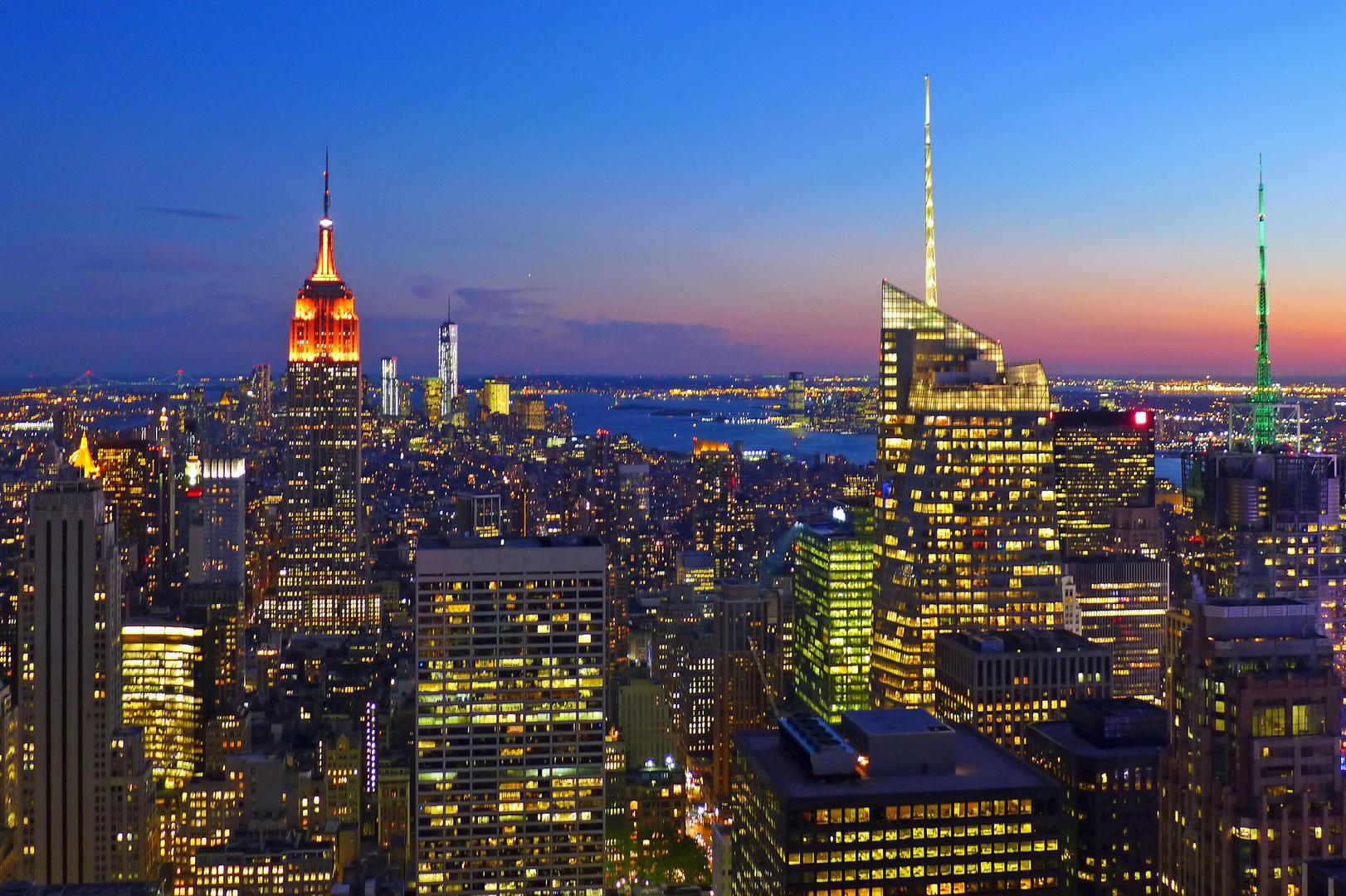 NYC am Abend