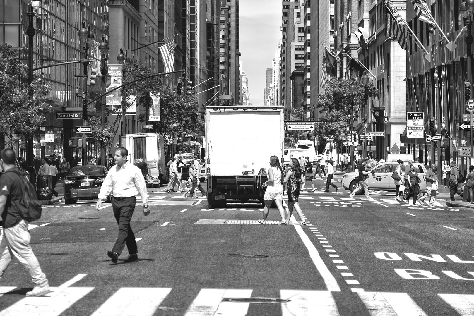 NYC B & W 161