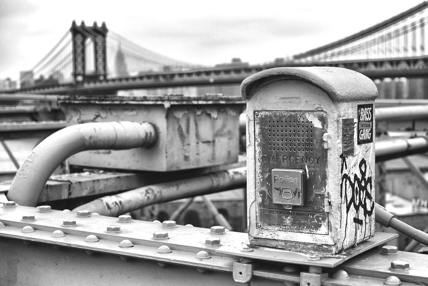 NYC B & W 197