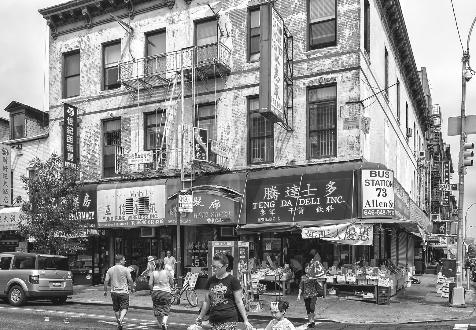 NYC B & W 226