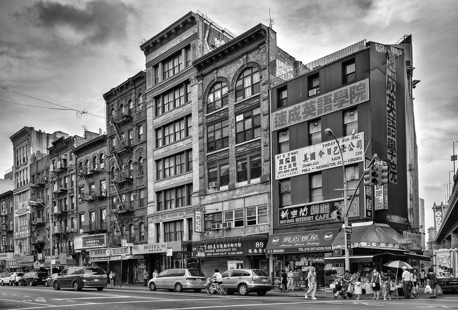 NYC B & W 227