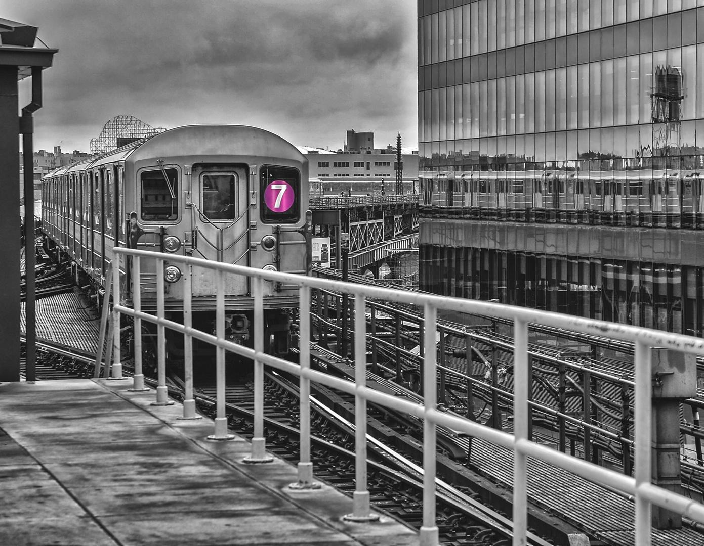 NYC B & W 351