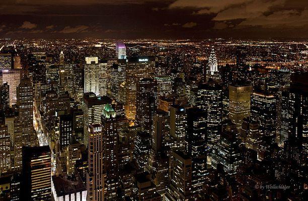 NYC bei Nacht