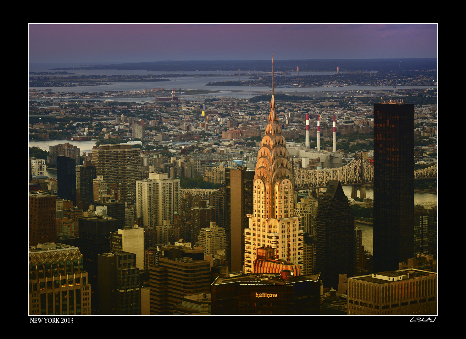 NYC, Chrysler Building from Empire State