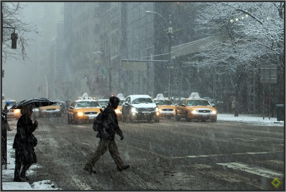 NYC im Schnee IV