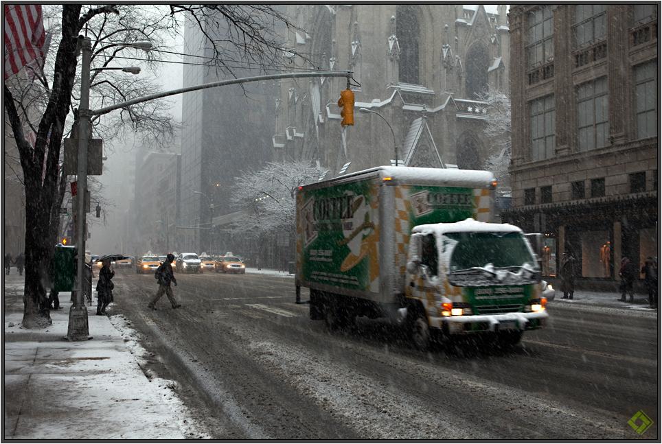 NYC im Schnee V
