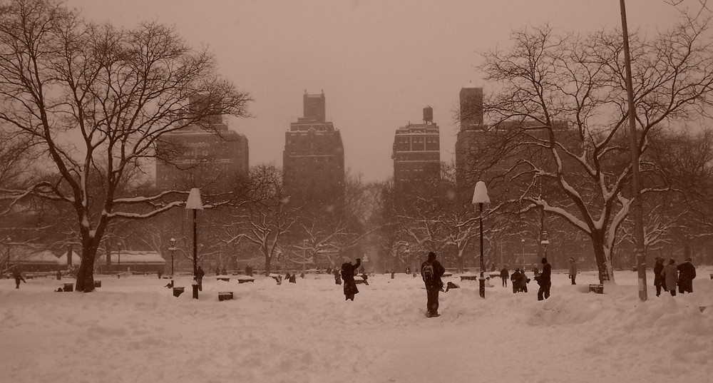 NYC in the winter
