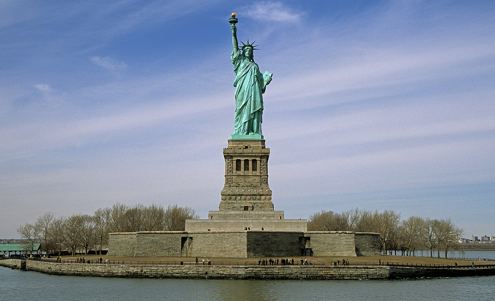 NYC - Liberty Island - Freiheitsstatue